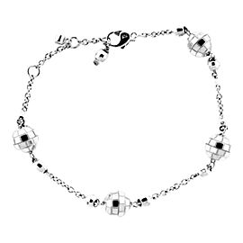 Piaget White Gold Disco Ball Diamond G36L3018 Bracelet