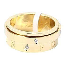 Piaget 18K Yellow Gold G34PX100 Possession Diamond Ring
