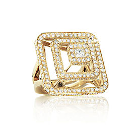 Piece Pyramid All Diamond Ring (Lrg)