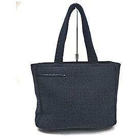 Prada Grey Shopper Tote Bag 862970