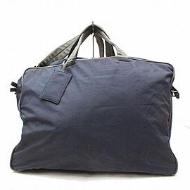 Prada Duffle Extra Large Tessuto Sports 2way 869246 Black Nylon Weekend/Travel Bag