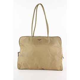 Prada Beige Nylon Tessuto Shoulder Bag 13PR1215