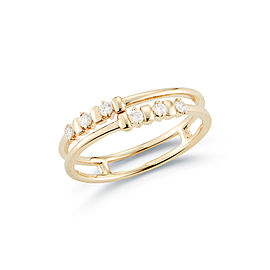Reese Brooklyn Staggered Diamond Ring