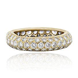Cartier 18k Yellow Gold 1ctw Diamond Classic Ring