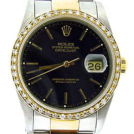 Rolex Datejust 16233 Vintage 36mm Mens Watch