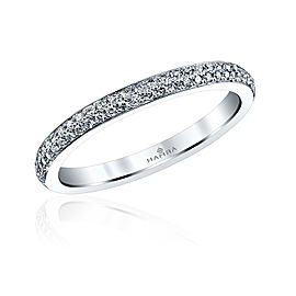 Jeff Cooper R-3109/B Platinum Diamond Ring