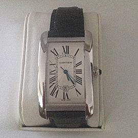 Cartier Tank Americaine W2605556 45.1mm Mens Watch
