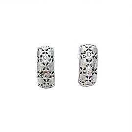 Roberto Coin 18K White Gold with Diamond Earrings