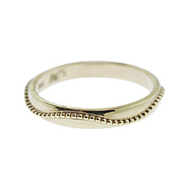 Monica Rich Kosann Yellow Gold Posey Ring With Beading