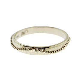 Monica Rich Kosann Yellow Gold Posey Ring With Beading