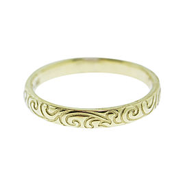 Monica Rich Kosann Yellow Gold Posey Ring