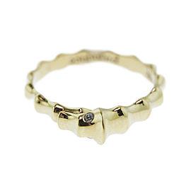 Monica Rich Kosann Rose Gold Seahorse Posey Ring Diamond Eyes .08carats