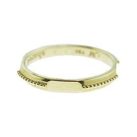 Monica Rich Kosann Yellow Gold Signet Posey Ring