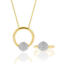 Infinity Revolution Ring / Necklace