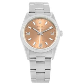 Rolex Air King 14000 Stainless Steel Automatic 34mm Unisex Watch