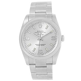 Rolex Air King 114200 Stainless Steel Automatic 34mm Mens Watch