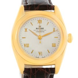 Rolex Vintage Collection 3131G 18K Yellow Gold Automatic 26mm Mens Watch