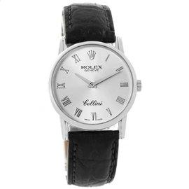 Rolex Cellini 5116 18K White Gold 31.8mm Manual Mens Watch