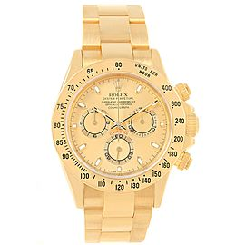 Rolex Cosmograph Daytona 116528 18K Yellow Gold 40mm Automatic Mens Watch