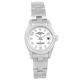 Rolex Date 69160 Stainless Steel 26mm Womens Watch