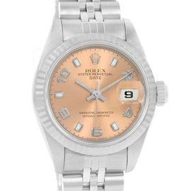 Rolex Datejust 69174 Stailess Steel and White Gold Vintage 26mm Womens Watch