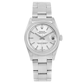 Rolex Datejust 78240 Stainless Steel Silver Dial Automatic 31mm Womens Watch