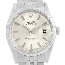 Rolex Datejust 1603 Stainless Steel Silver Dial Automatic Vintage 36mm Mens Watch