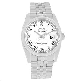 Rolex Datejust 116200 Stainless Steel 36mm Mens Automatic Watch