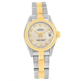 Rolex Datejust 69163 Stainless Steel & 18K Yellow Gold 26mm Womens Watch