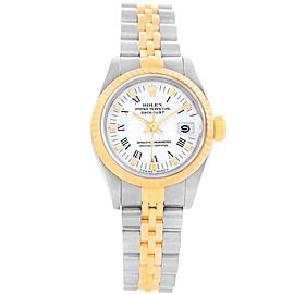 Rolex Datejust 69173 Stainless Steel and 18K Yellow Gold 26mm Automatic Women Watch