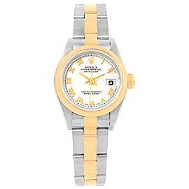 Rolex Datejust 69163 Stainless Steel 26mm Womens Watch