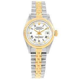 Rolex Datejust 69173 Stainless Steel 26mm Womens Watch