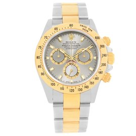 Rolex Cosmograph Daytona 116523 Stainless Steel & 18K Yellow Gold Slate Dial 40mm Mens Watch