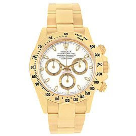 Rolex Daytona 116528 18K Yellow Gold 40mm Automatic Mens Watch