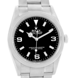 Rolex Explorer I 114270 Stainless Steel & Black Dial Automatic 36mm Mens Watch