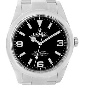 Rolex Explorer I 214270 Stainless Steel Automatic 39mm Mens Watch