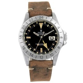 Rolex Explorer II Steve Mcqueen 1655 Stainless Steel 36mm Automatic Vintage Mens Watch