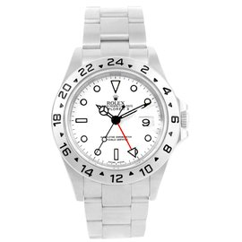 Rolex Explorer II 16570 Stainless Steel Automatic 40mm Mens Watch