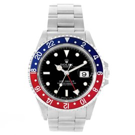 Rolex GMT Master 16700 Stainless Steel 40mm Automatic Mens Watch
