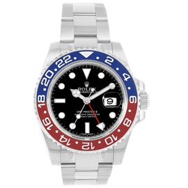 Rolex GMT Master II 116719 18K White Gold 40mm Automatic Mens Watch