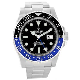Rolex GMT Master II 116710 Stainless Steel 40mm Automatic Mens Watch