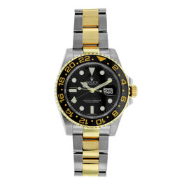 Rolex 116713 GMT-Master II Stainless Steel and 18K Yellow Gold 40mm Mens Watch