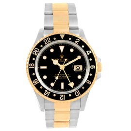 Rolex GMT Master II 16713 Stainless Steel 40mm Mens Watch