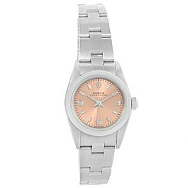 Rolex Oyster Perpetual 24 Nondate 76080 Stainless Steel 24mm Automatic Women Watch
