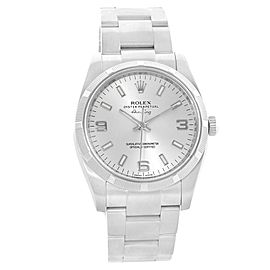 Rolex Oyster Perpetual Air King 114210 Stainless Steel 34mm Unisex Watch