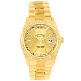 Rolex President Crown 18308 18K Yellow Gold 36mm Mens Watch