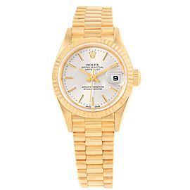 Rolex President Datejust 79178 18K Yellow Gold 26mm Automatic Women Watch