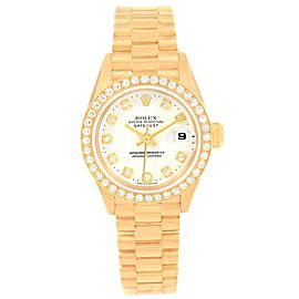 Rolex Datejust 79138 18K Yellow Gold with Diamond Automatic 26mm Womens Watch