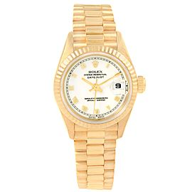Rolex President Datejust 69178 18K Yellow Gold 26mm Automatic Women Watch