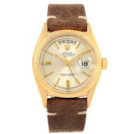 Rolex President Day-Date 1803 18K Yellow Gold Automatic Mens Vintage Watch
